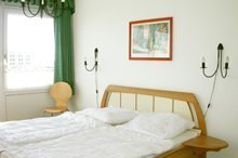 Schlafzimmer der Ferienwohnung Nr. 206