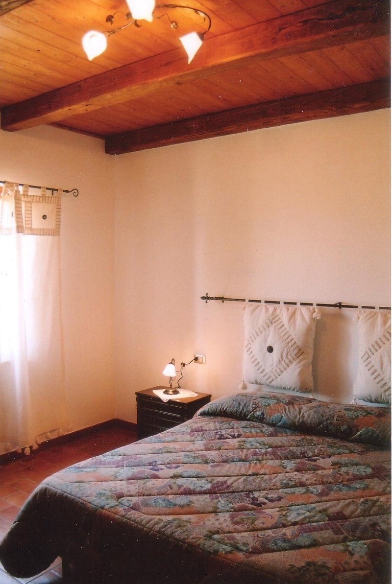 1. Schlafzimmer Leccio mit Doppelbett