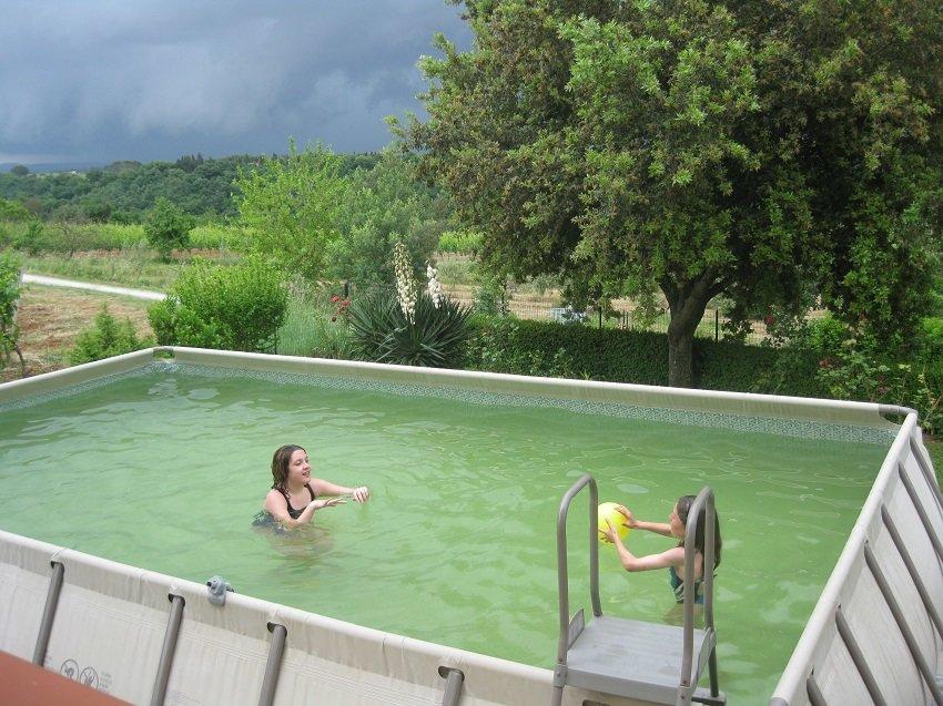 Der Pool von Casa Gelso