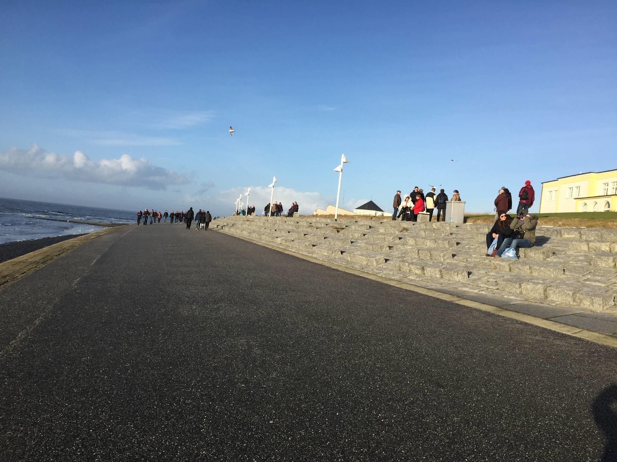 Die Moltkestra�e ist sehr nah zum Strand