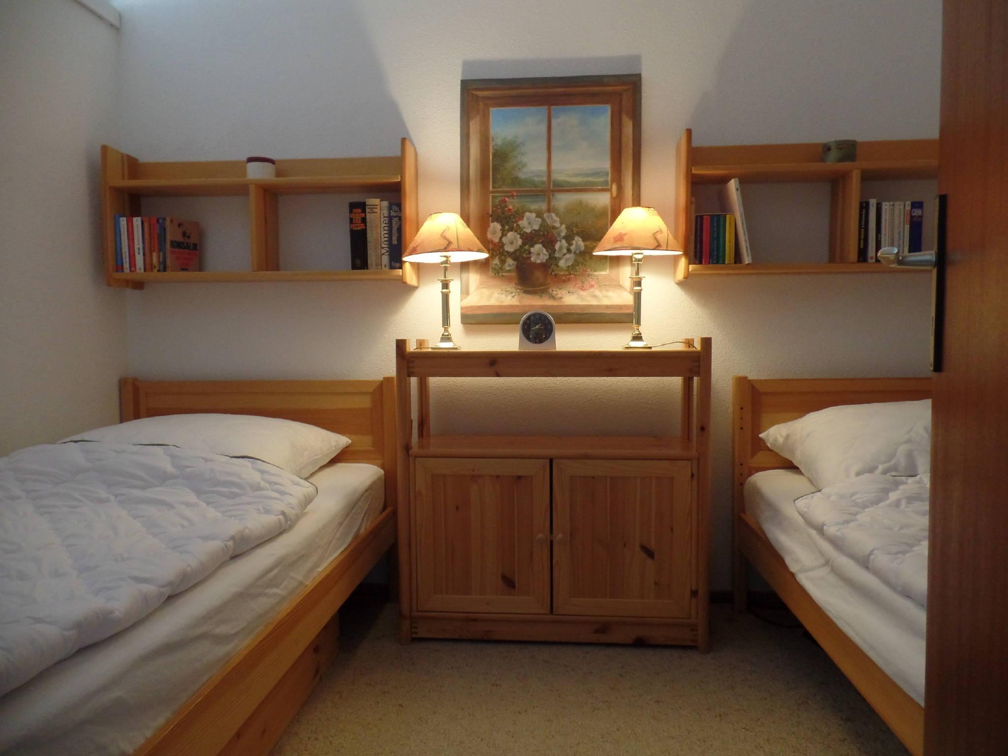 Manche Schlafräume mit getrennten Betten