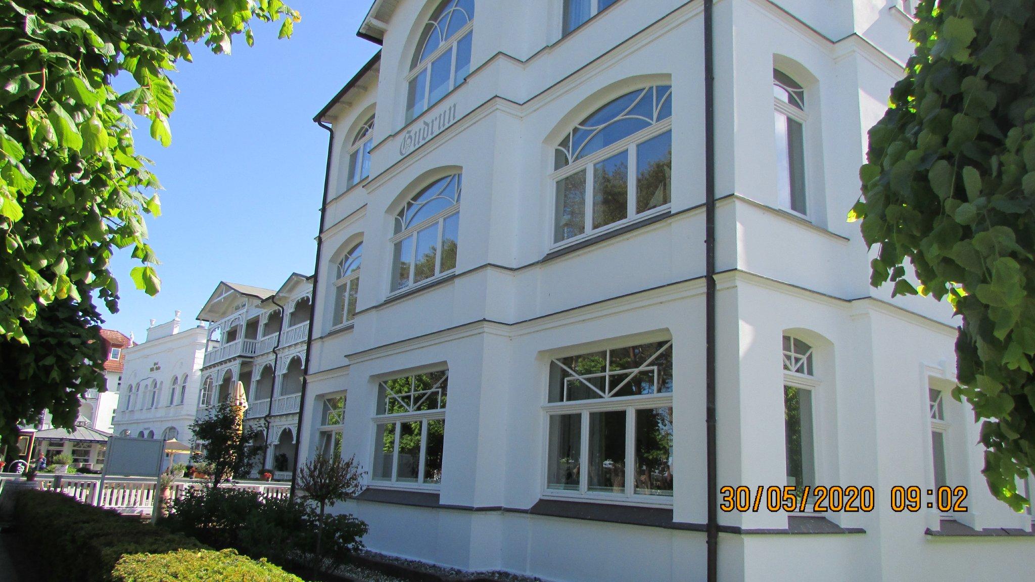 Das Haupthaus - Die Villa Gudrun
