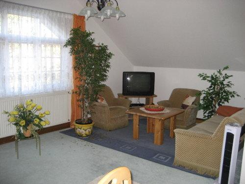 Wohnzimmer Sitzecke mit TV