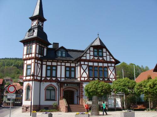 Rathaus Steinbach- Hallenberg