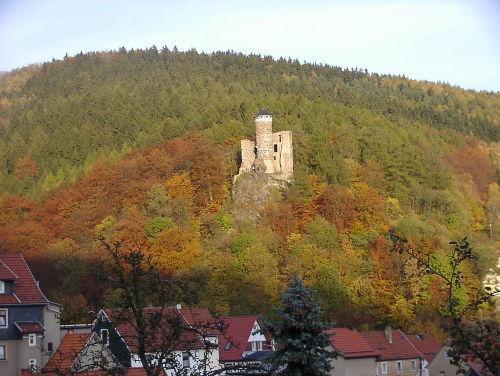 """""""Ruine Hallenburg"""" von St.-Hallenberg"""