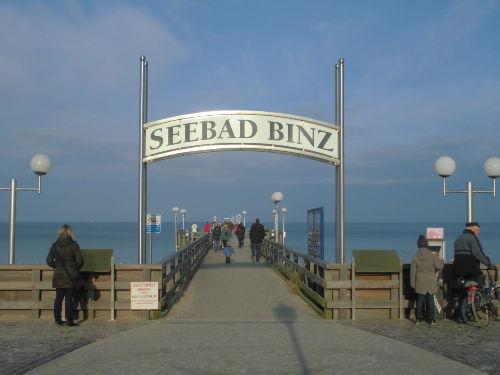 Seebrüke von Binz