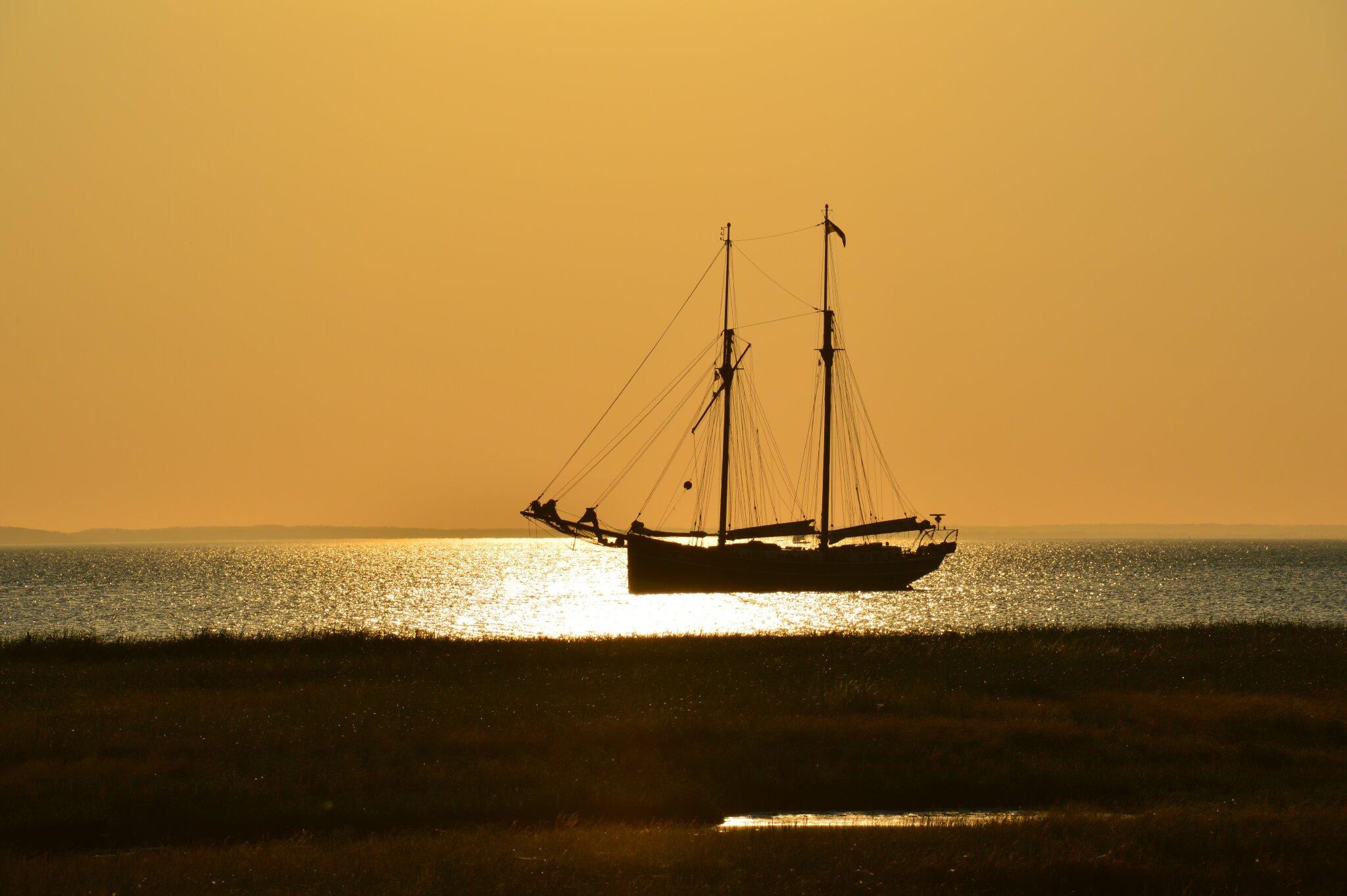 Sonnenuntergang Geltinger Bucht