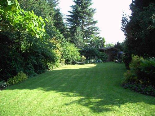 Teil des grossen Gartens