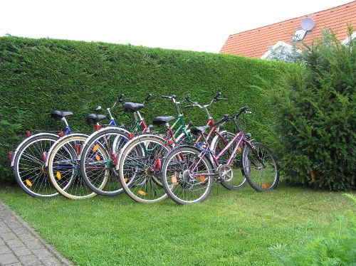 Die Nutzung der Fahrräder ist kostenlos.
