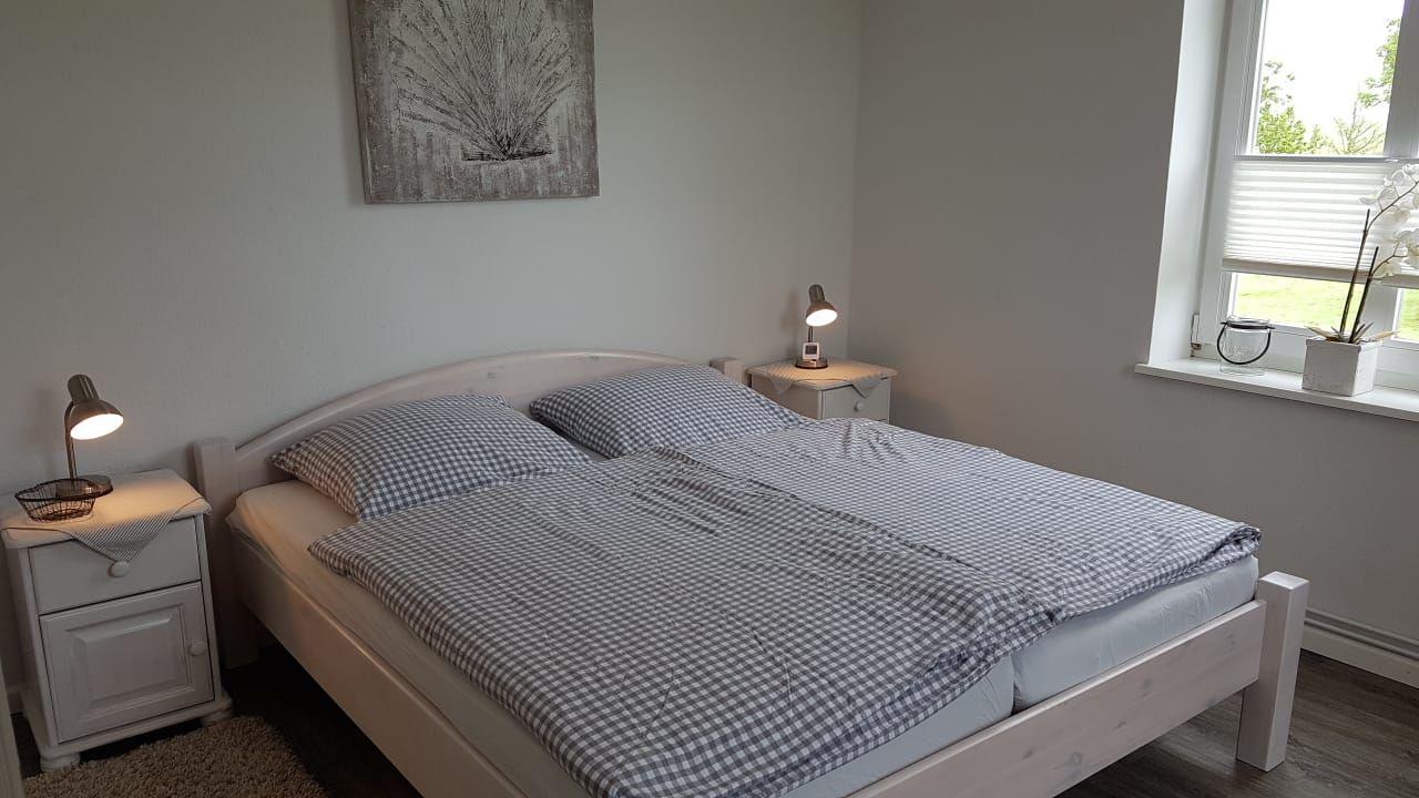 Teilansicht Schlafzimmer