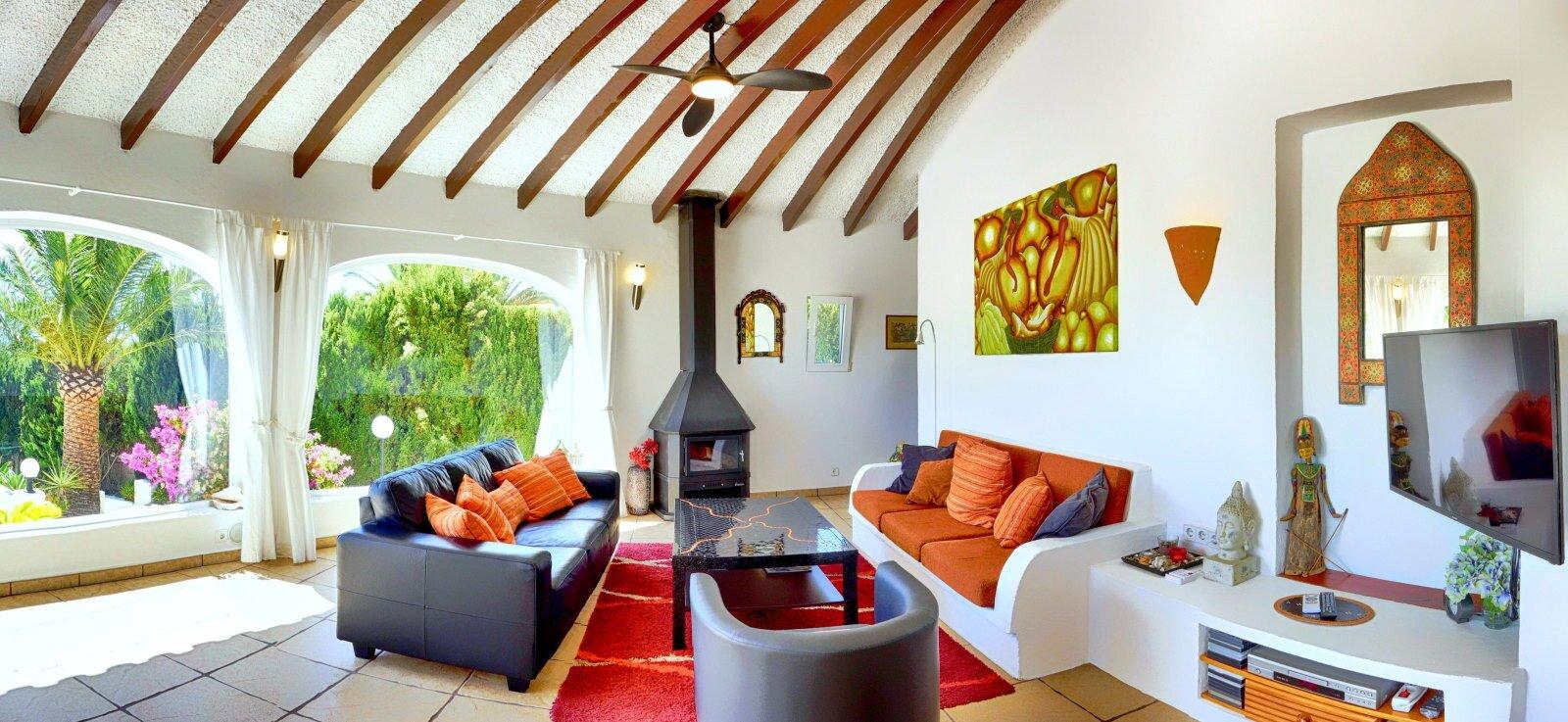 Casa Erimeli - Schlafzimmer blau