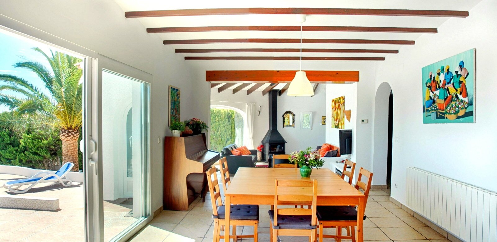 Casa Erimeli - Bad Schlafzimmer blau