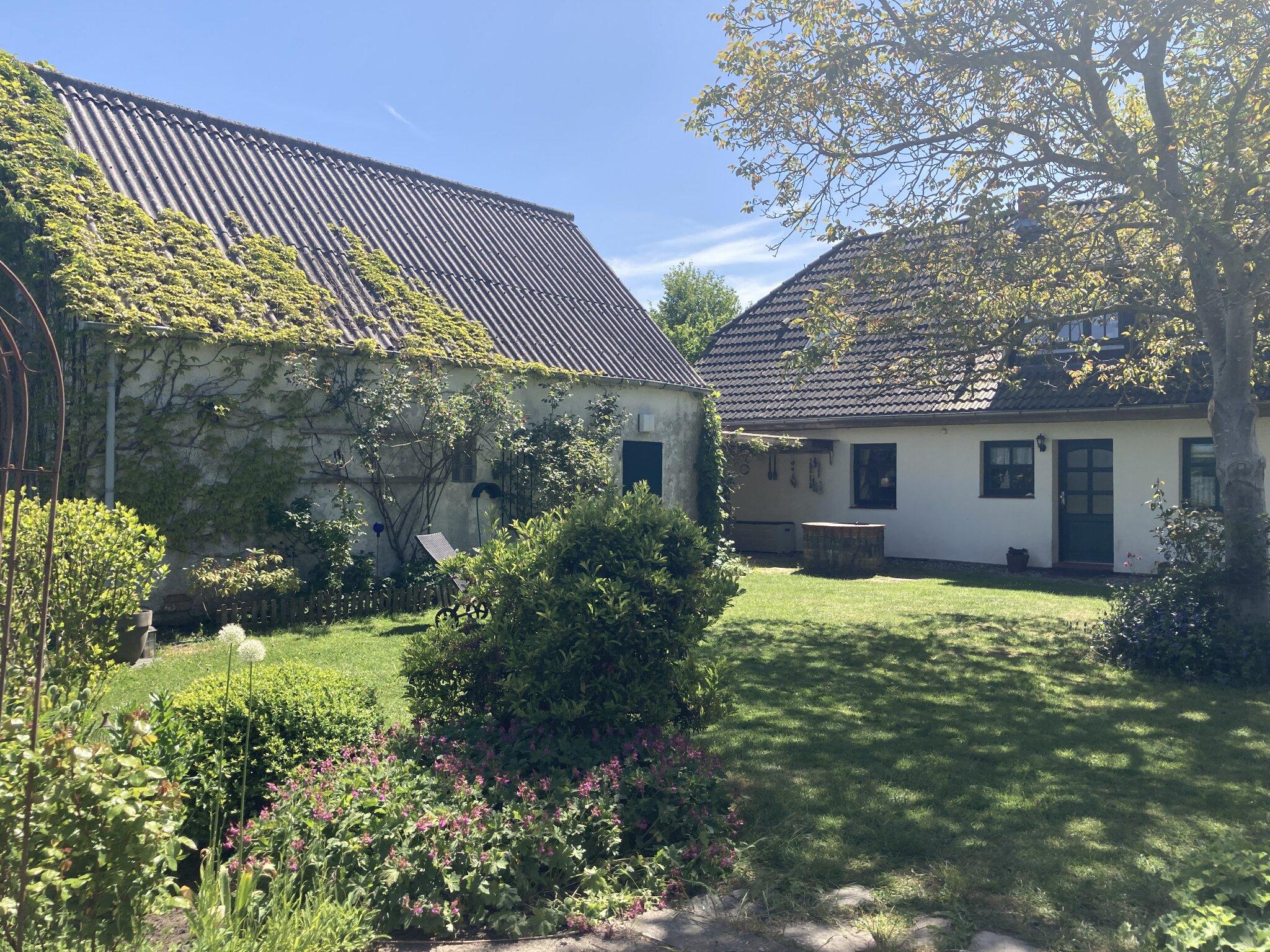 Das Büdnerhaus im Winter