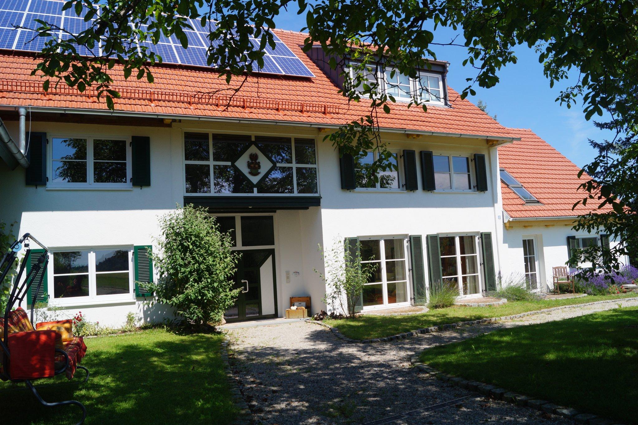 Der Birkethof, Eingang