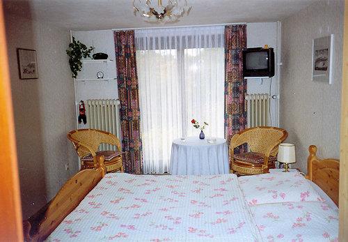 Doppelzimmer mit Terrasse zum Garten