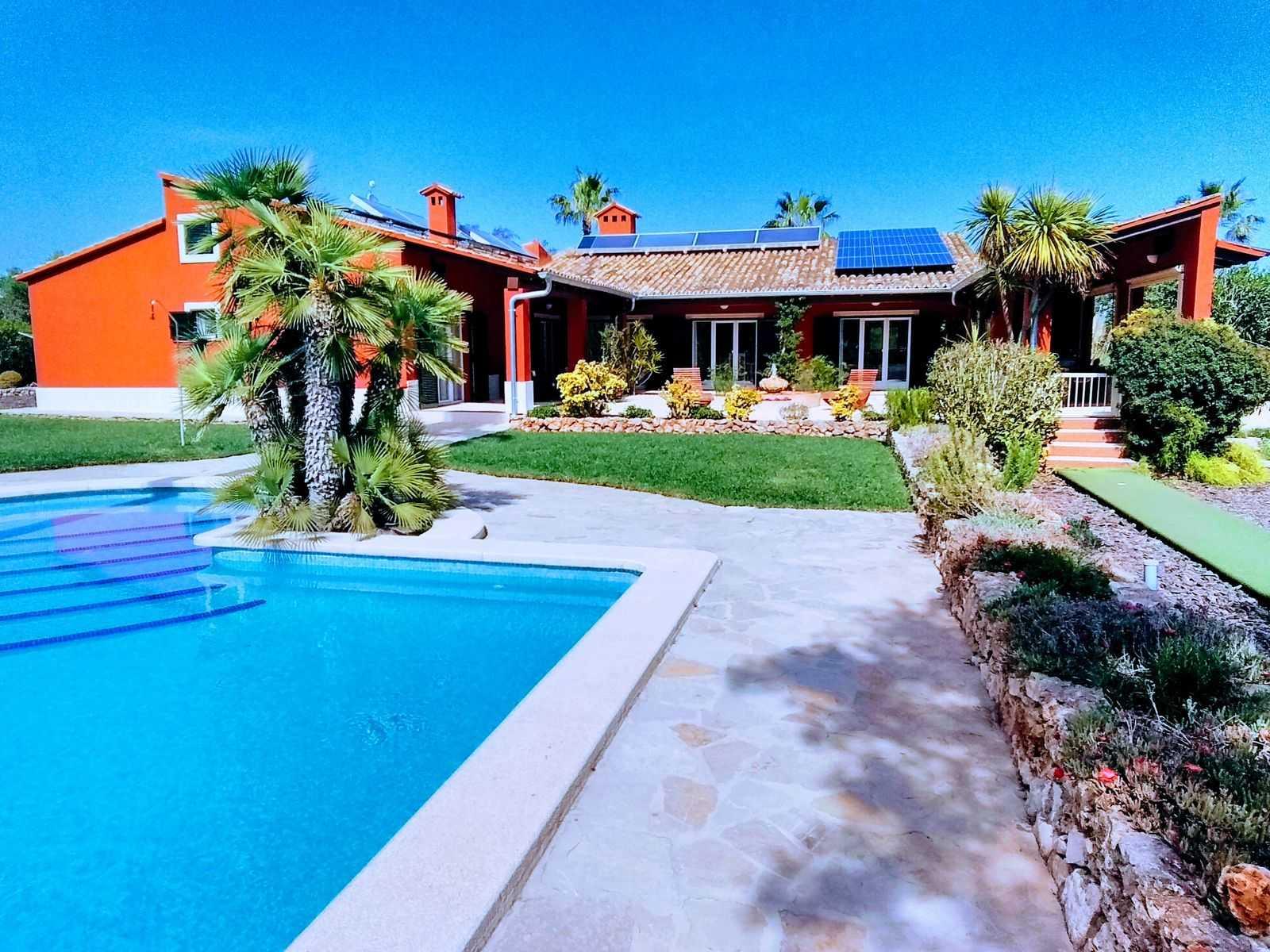 Pool - Terrasse - Haus