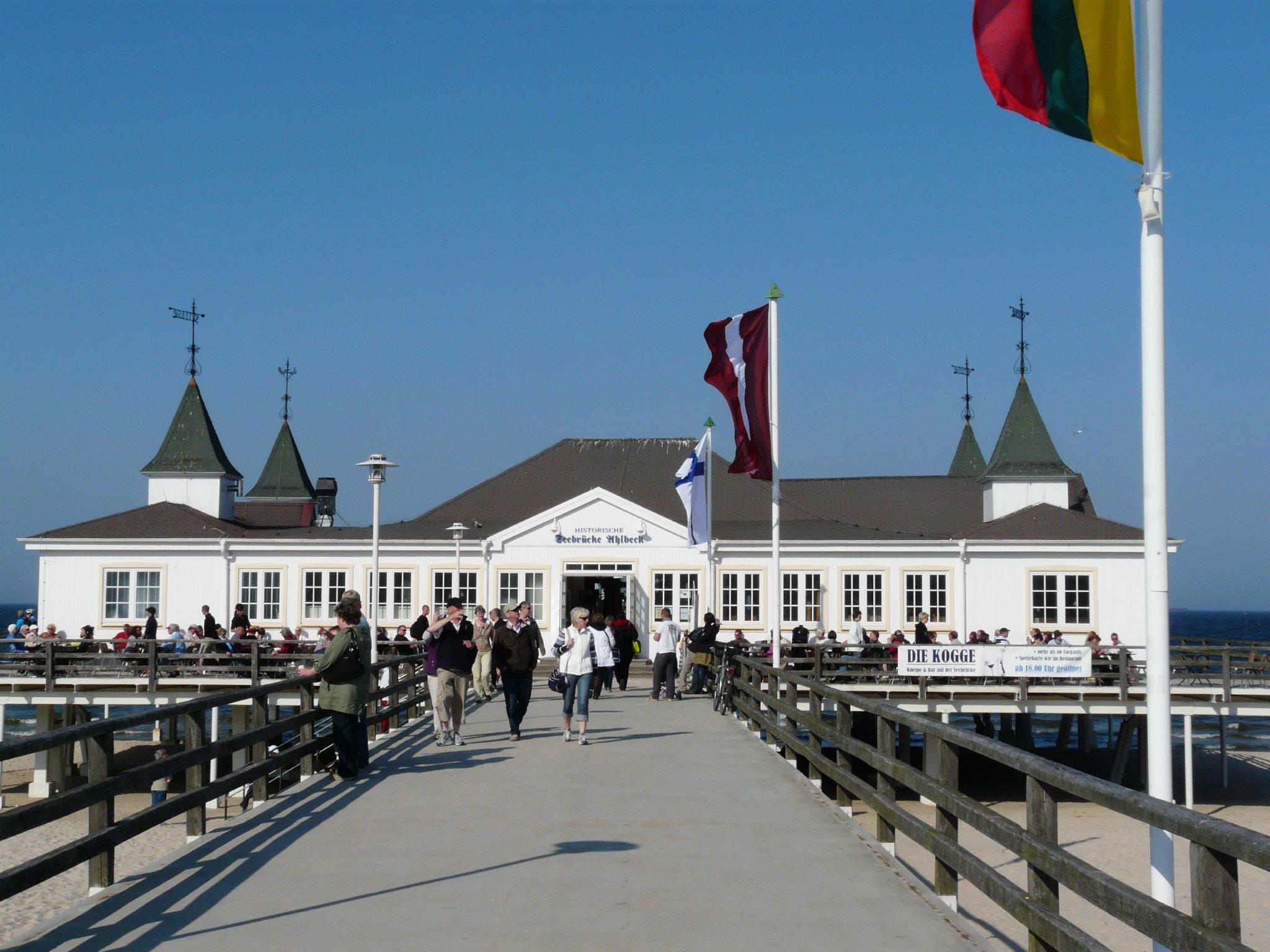 Historsische Seebrücke von Ahlbeck