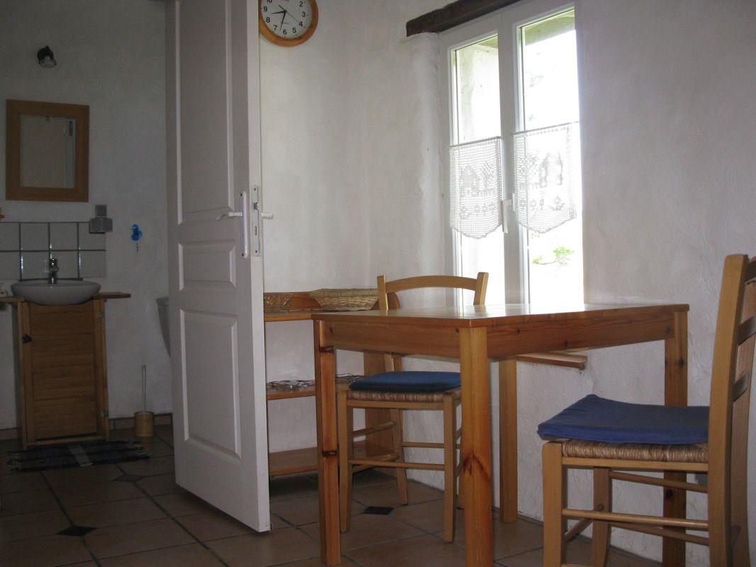 Durchgang von der Küche ins Wohnzimmer