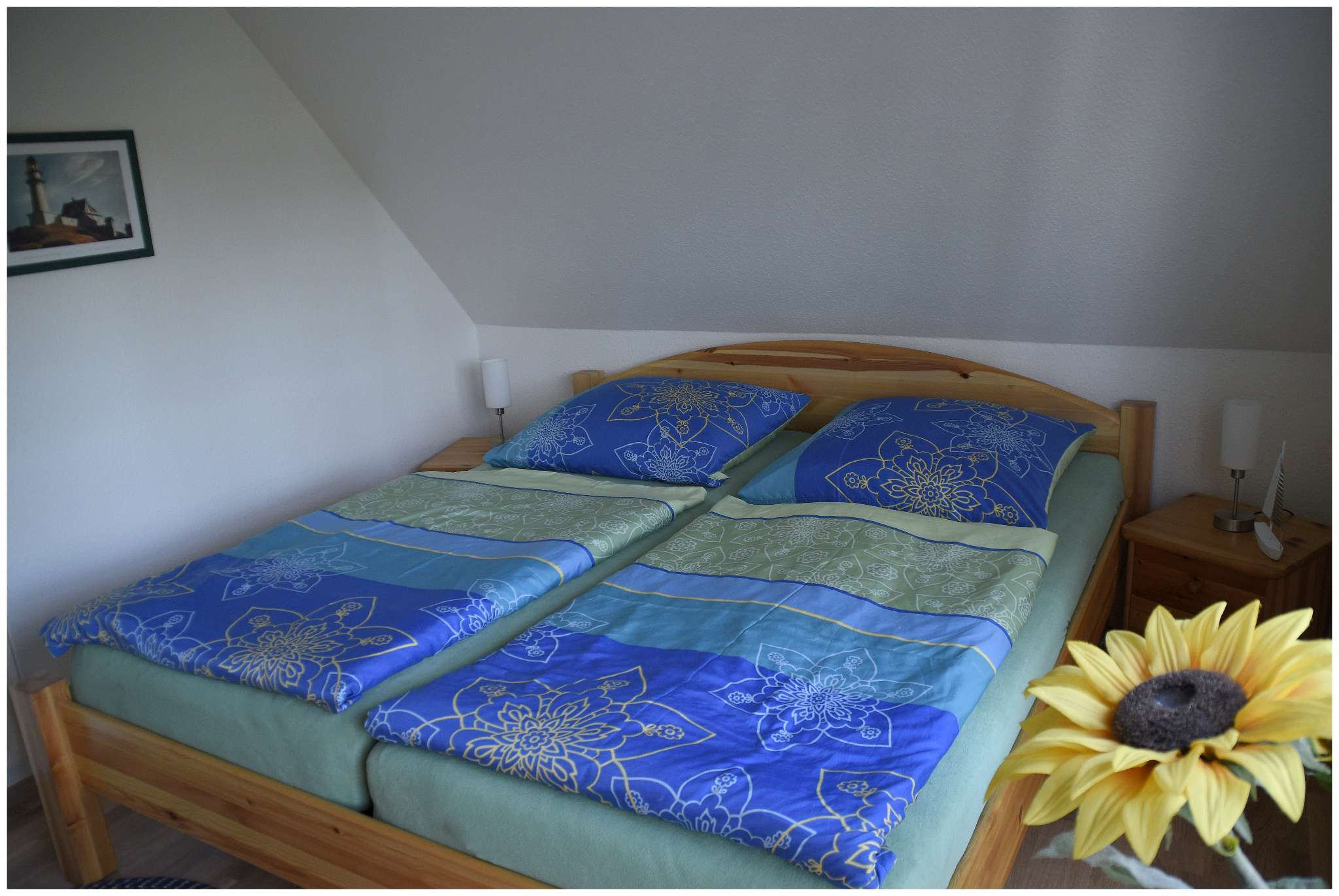 auch das 2. Schlafzimmer sehr gemütlich
