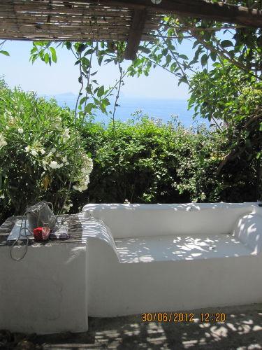 Blick von der Terrasse 1. Zimmmer