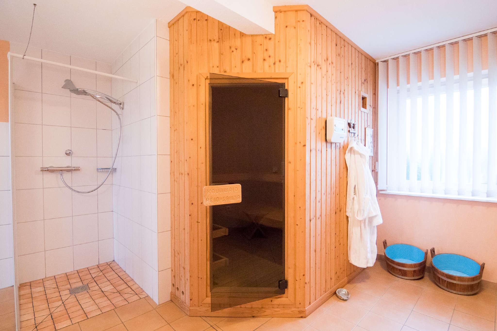 Gönnen Sie sich einen Saunagang!
