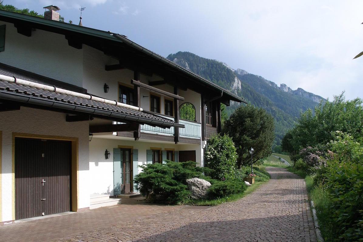 Haus Sonnleitn Zufahrt