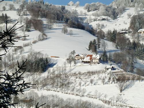Winterrundblick von der Wohnung