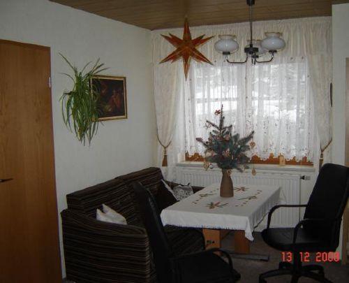 FeWo Wohnzimmer im Advent