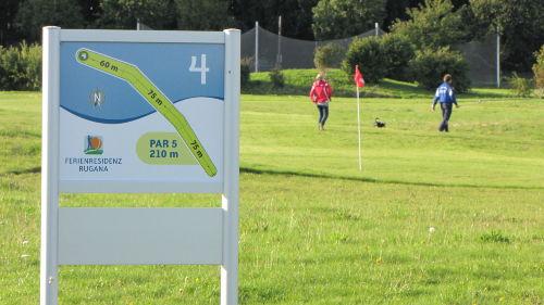Die Swin-Golf (Familiengolf) Anlage