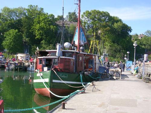 Im Hafen von Saanitz