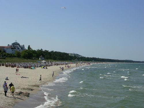 Die Ostsee bei Binz