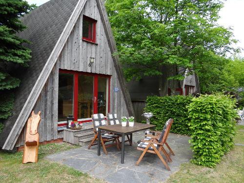Detailbild von Ferienhaus Finnhütte Wittenbecker Tannen