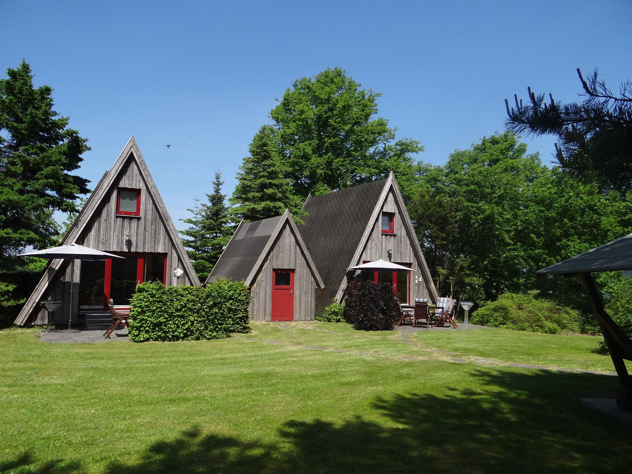 Umgebung von Ferienhaus Finnhütte Wittenbecker Tannen
