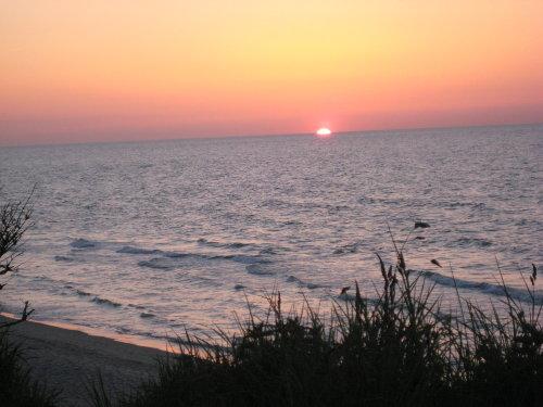 Sonnenuntergang in Wittenbeck