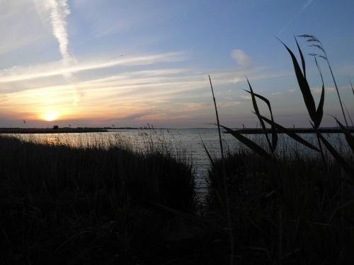 Sonnenuntergang Krienker See