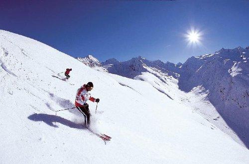 Schifahren in Hochötz, Sölden und Kühtai