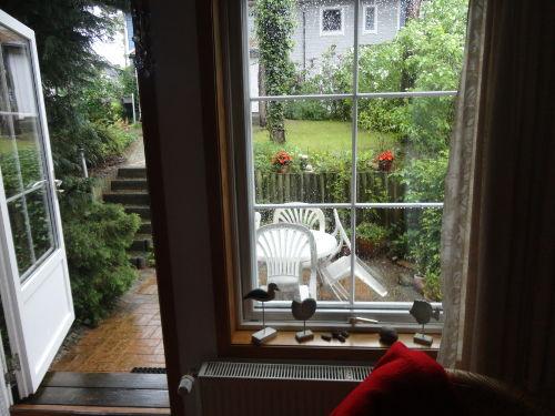 Wohnzimmer - kleiner Garten
