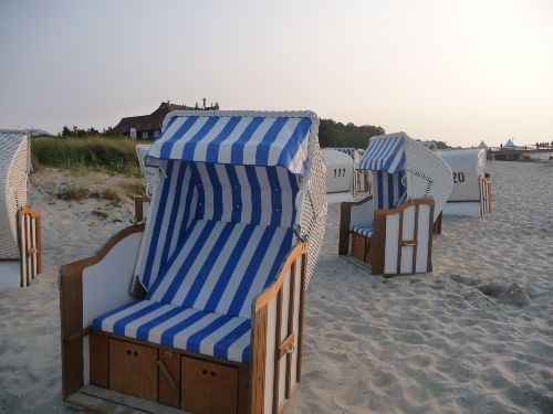 Einfach mal im Strandkorb entspannen...