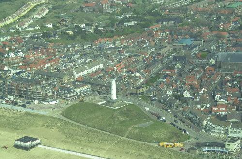 Egmond aan Zee mit oben haus dennenlaan