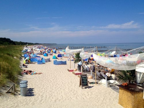 Ostseestrand in Zingst