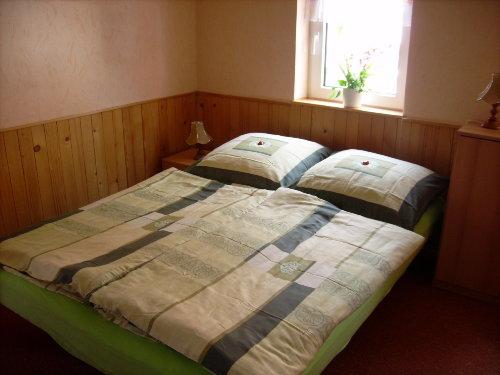 Schlafraum/ Dppelbett