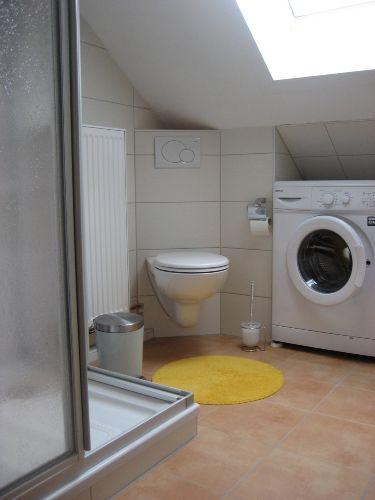 Neues Bad 2012 mit Waschmaschine
