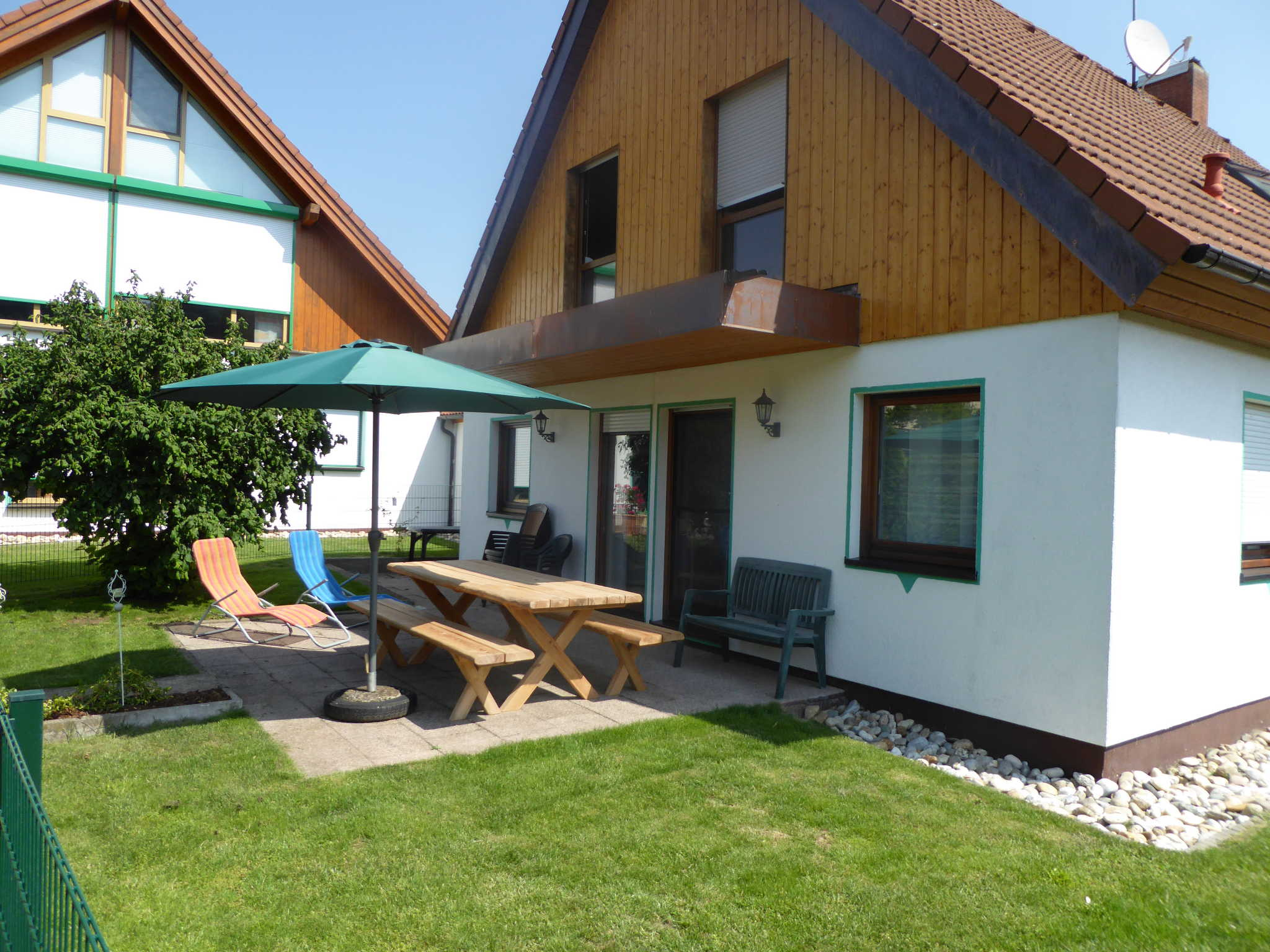 Küche und Esszimmer Haus Hatschi