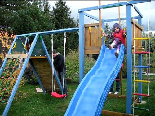 Der Spielplatz für unsere kleinen Gäste