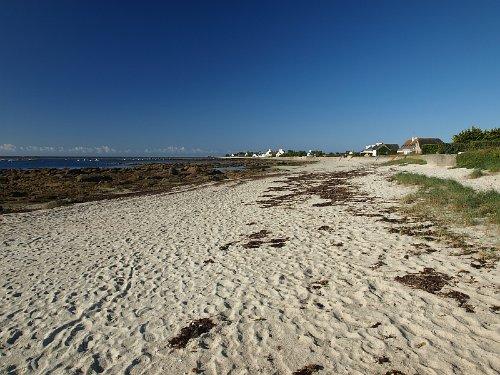 Strand Kerfriant, 50 Meter vom Haus
