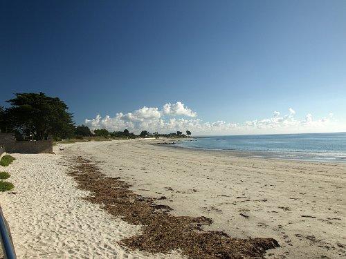 Strand Lodonnec, 500 Meter vom Haus