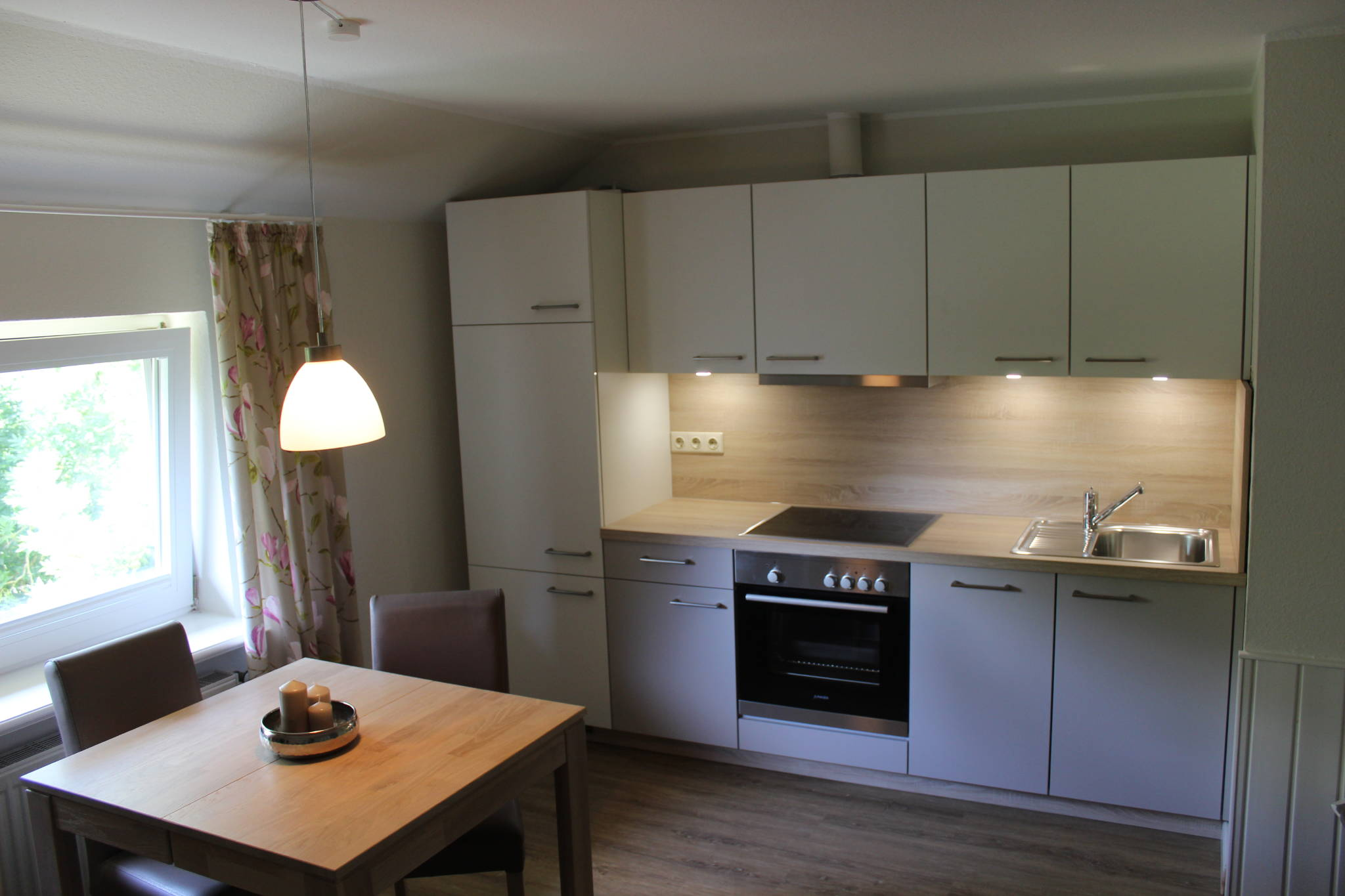 Einblick in die Wohnküche