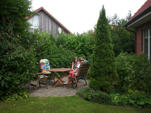 eigener Zugang zum Garten