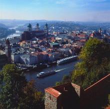 Luftaufnahme Dreiflüssestadt Passau