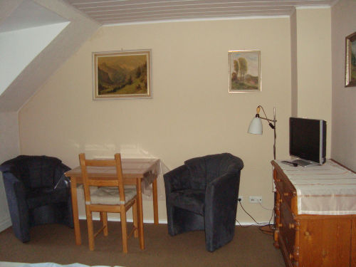 Schlafzimmer / Sitzecke